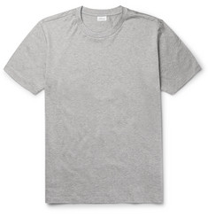 Brioni - Slim-Fit Mélange Cotton-Jersey T-Shirt