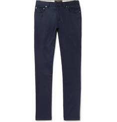 Brioni Meribel Slim-Fit Cotton-Twill Trousers