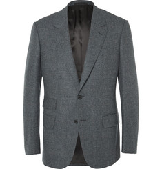Kingsman - Grey Slim-Fit Prince of Wales Checked Wool Blazer