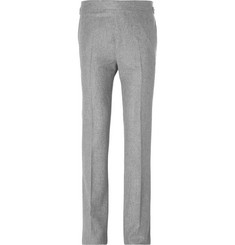 Kingsman - Slim-Fit Wool-Flannel Trousers