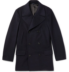 Kingsman Wool and Cashmere-Blend Peacoat