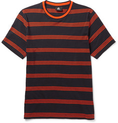 PS by Paul Smith Striped Cotton-Jersey T-shirt