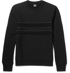 PS by Paul Smith Panelled Loopback Organic Cotton Sweatshirt