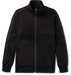 PS by Paul Smith Panelled Jersey Zip-Up Sweatshirt