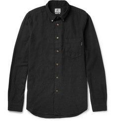 PS by Paul Smith Button-Down Collar Cotton-Blend Shirt