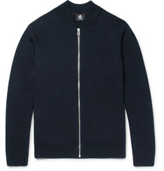 PS by Paul Smith Merino Wool Zip-Up Cardigan