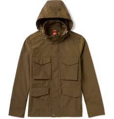 PS by Paul Smith Cotton-Blend Hooded Field Jacket