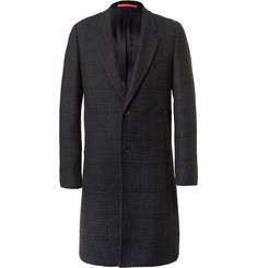 PS by Paul Smith - Checked Bouclé Overcoat