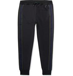 PS by Paul Smith Slim-Fit Tapered Striped Tech-Jersey Sweatpants