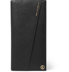 Kingsman + Smythson Panama Leather Travel Wallet