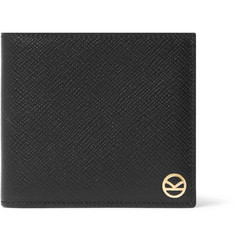 Kingsman + Smythson Panama Cross-Grain Leather Billfold Wallet