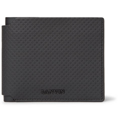 Lanvin - Textured-Leather Billfold Wallet