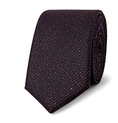 Lanvin - 5cm Wool and Lurex-Blend Tie