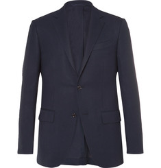 Ermenegildo Zegna Blue Slim-Fit High Performance Wool Travel Blazer
