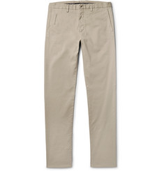 Ermenegildo Zegna - Garment-Dyed Stretch-Cotton Trousers