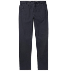 Ermenegildo Zegna Garment-Dyed Stretch-Cotton Trousers