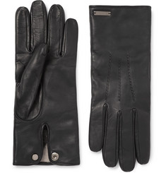 Burberry - Cashmere-Lined Leather Gloves