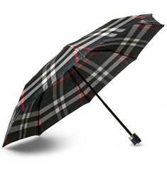 Burberry - Checked Travel Umbrella