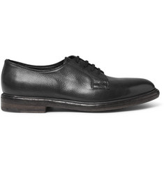 Paul Smith Boyd Pebble-Grain Leather Derby Shoes