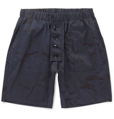 Albam Camouflage-Print Shell-Ripstop Shorts
