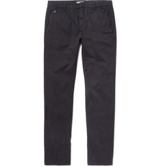 Bottega Veneta Garment-Dyed Stretch-Cotton Twill Trousers