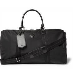 Dunhill Guardsman Leather-Trimmed Canvas Holdall