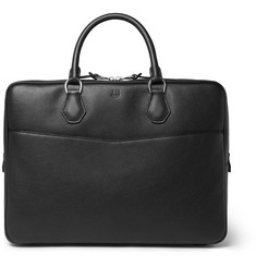 Dunhill Boston Full-Grain Leather Briefcase