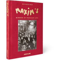 Assouline Maxim's Mirror of Parisian Life Hardcover Book