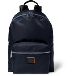 Paul Smith - Leather-Trimmed Nylon Backpack