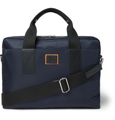 Paul Smith Leather-Trimmed Canvas Briefcase