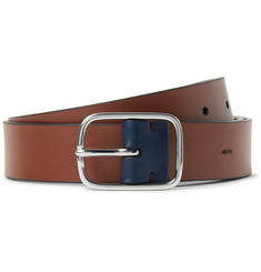 Paul Smith 3cm Brown Leather Belt