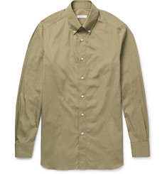Boglioli Button-Down Collar Cotton-Poplin Shirt