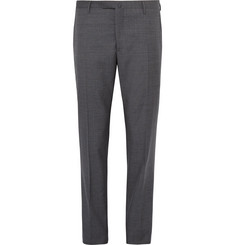 Boglioli Slim-Fit Checked Virgin Wool Suit Trousers