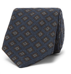 Kingsman - + Drake's Diamond-Patterned Wool Tie