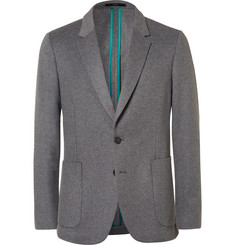 Paul Smith Grey Soho Slim-Fit Wool and Cashmere-Blend Blazer