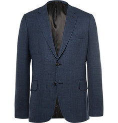 Paul Smith Blue Slim-Fit Woven Wool Blazer