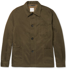 Paul Smith Cotton and Linen-Blend Twill Jacket