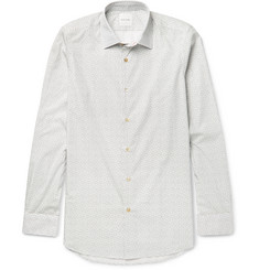Paul Smith Slim-Fit Music Note-Print Cotton Shirt