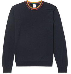 Paul Smith Striped Merino Wool Sweater