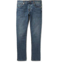 AMI Slim-Fit Stretch-Denim Jeans