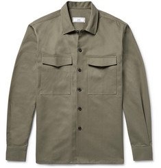 AMI Cotton-Gabardine Overshirt