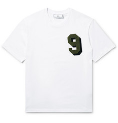 AMI - Printed Cotton-Jersey T-Shirt