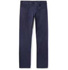 Canali - Slim-Fit Stretch-Cotton Chinos