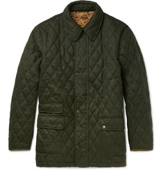 Cordings Quilted Wool Field Jacket