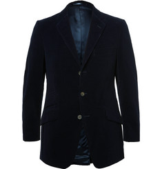 Cordings Blue Duke Cotton-Corduroy Blazer