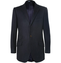 Cordings Blue Wool Blazer