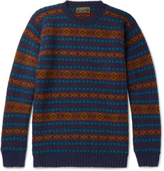Cordings Fair Isle Wool Sweater