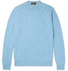 Cordings Slim-Fit Mélange New Wool Sweater