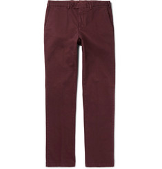 Cordings Brushed Stretch-Cotton Twill Trousers