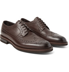 Ermenegildo Zegna - Flex Leather Longwing Brogues